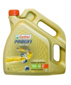 Olej CASTROL POWER 1 RACING 4T 10W40 4L