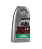 Olej MOTOREX CROSS POWER 4T 10W60 1L