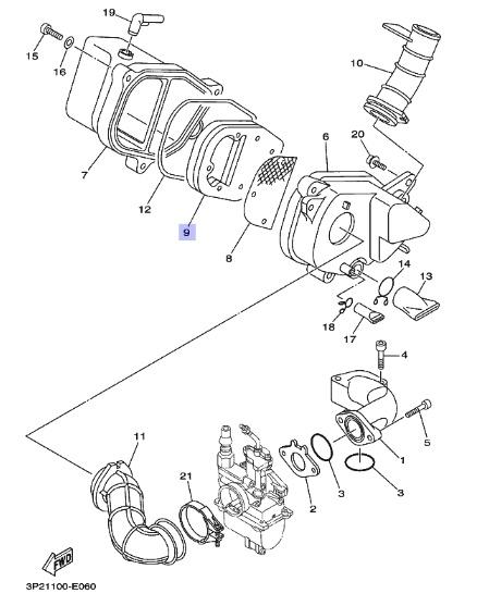 Oryginalny Filtr Powietrza Yamaha Ttr9 Tt R90 Ttr90 Olej